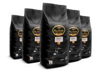 Kit com 5 Pacotes de Café Pacaembu Gourmet em Grãos 1 Kg -