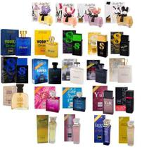 Kit Com 5 Perfumes Paris Elysees 100 Ml Originais Lacrados