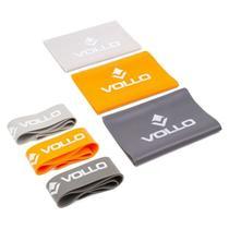 Kit com 6 Faixas Elásticas VP1080 Vollo - Vollo Sports