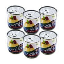 Kit com 6 latas Leite Condensado Diet Hué (Sem Adição de Açúcares) Sem Glúten (335g cada) -