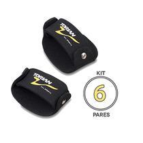 Kit Com 6 Pares de Luva EVA Sliper Torian FTG M -