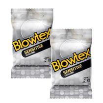 Kit com 6 reservativo Blowtex Sensitive c/ 3 Un cada -