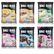 Kit Com 6 Saco A Vácuo Todos Os Tamanhos - Vac Bag Ordene -