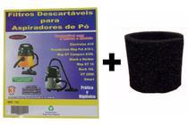 Kit Com 6 Sacos Descartáveis Aspirador De Pó Electrolux A10 Smart Mod. A10s + Filtro Motor - Oriplast