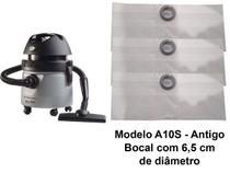 Kit Com 6 Sacos Descartáveis Aspirador De Pó Electrolux A10 Smart Mod. A10s - Oriplast