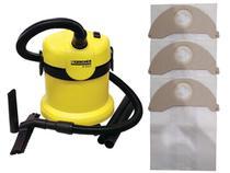 Kit Com 6 Sacos Descartáveis Aspirador De Pó Karcher A2003 / A2004 - Oriplast