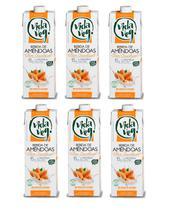Kit com 6 unidades Bebida de amendoas Vida Veg 1l -