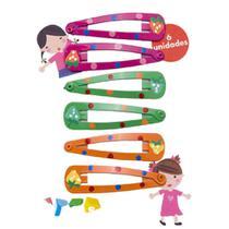 Kit Com 6 Unidades de TIC TAC Kids Colors Fashion Marco Boni -