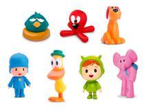 Kit com 7 bonecos de vinil da turma do pocoyo - Cardoso Toys