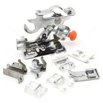 Kit com 8 Calcadores para Costura, Quilting e Patchwork - Mac-Len