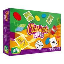Kit Com 8 Jogos Clássicos Copag Cartas Baralhos Mico - 90941 -