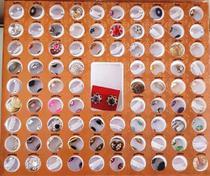Kit com 84 pares de brincos e cartela com os valores - Emily