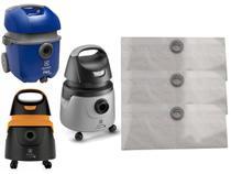 Kit Com 9 Sacos Descartáveis Aspirador Pó Electrolux Flex A10n1 Smart Acqua Power - Oriplast