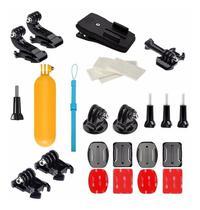 Kit Com Acessorios E Suporte Para GoPro Hero Black Plus Hero+ Gopro 2018 Sports Action Cam 4K - Mega Vendas Online
