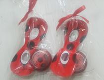 Kit com ioiô e máscara Miraculous - Ladybug para lembrancinha - 10 unidades - Fabi brindes