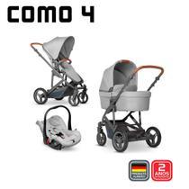 Kit COMO 4(Carrinho + Moisés + BB Conforto + Bolsa) - Abc Design