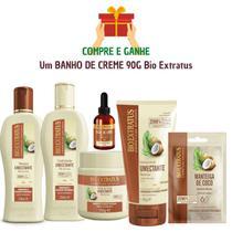 Kit Completo 6 Produtos Óleo De Coco Bio Extratus + Brinde -