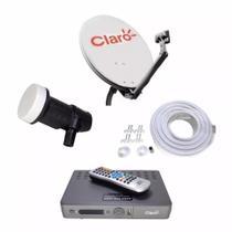 Kit Completo Claro HD  TV Pré Pago  Recarga ALTA DEFINIÇÃO - CLARO VISIONTEC