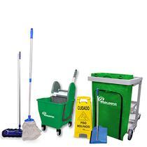 Kit Completo Equipamento De Limpeza Profissional Bralimpia -
