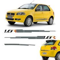 Kit Completo Faixa Palio 1.8 R 2008 4 Portas Mod. Original - Sportinox