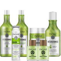 Kit Completo Inoar Résistance Fibra De Bambu (6 Produtos) - Inoar Cosmeticos