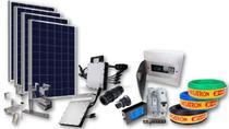 Kit Completo Usina Solar Com 2 Painel Fotovoltaico 660 Wp - Modesto