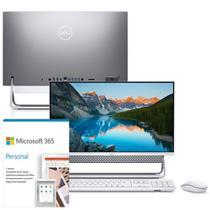 "Kit Computador All in One Dell Inspiron 5400-OS10SF 23.8"" FHD 11ª G Intel Core i5 8GB 256GB SSD Windows 10 Microsoft 365 -"