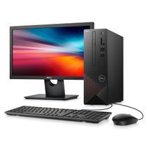 "Kit Computador Desktop Dell Vostro 3681-M10M 10ª Geração Intel Core i3 4GB 1TB Windows 10 + Monitor 21"" -"