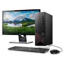 Kit Computador Desktop Dell Vostro VST-3681-M11M 10ª Geração Intel Core i3 4GB 256GB SSD Windows + Monitor SE2216H -