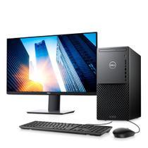 """Kit Computador Desktop Dell XPS 8940-A30M 10ª G Intel Core i7 16GB 256GB SSD+1TB HD GTX 1660 Win 10 Preto + Monitor 27"""" -"""