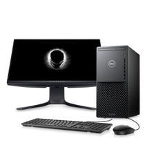 """Kit Computador Desktop Dell XPS 8940-A40M 10ª Intel Core i7 16GB 256GB SSD+1TB HD RTX 2060 Win 10 Preto + Monitor 24.5"""" -"""