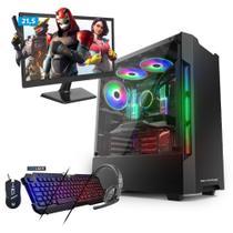 "KIT - Computador Gamer Neologic NLI80287 Amd A8 9600 8GB (Radeon R7 Integrada) 1TB Win 10 + Monitor 21,5"" -"