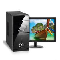 KIT - Computador Neologic Core i5-7400, 4gb, 1tb, Win 10, Monitor 18.5  - NLI66779 -