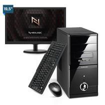 Kit - Computador Neologic NLI81900 Intel G-5900 10º Geração 8Gb 1TB + Monitor 19,5 -