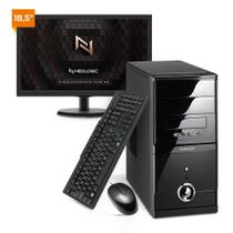 Kit - Computador Neologic NLI81904 Intel Core i3 10100 10º Geração 8Gb 1TB + Monitor 18,5 -