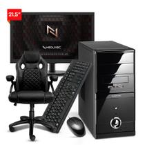 Kit - Computador Neologic NLI82158 Ryzen 3 2200G 8GB SSD 120GB + Cadeira -