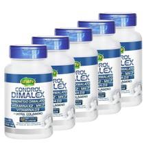 Kit Condrol Dimalex 1000mg 60 Comprimidos 5 Frascos Unilife -