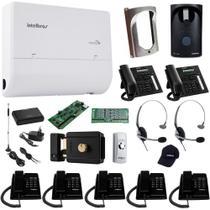Kit Conecta + 2x8 TI 830I XPE 1001 FX 500 TC 50 CHS 55 Disa - Intelbras