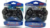 Kit Controle PS2 Analogico Joystick Computador PC Saida USB Games Vídeo Game Jogos Promocao - BARATOTAL