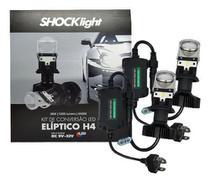 Kit conversao led eliptico h4 6500k 12v 36w 5200lm - Shocklight