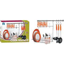 Kit Cook Home Cromado 8 Arthi -