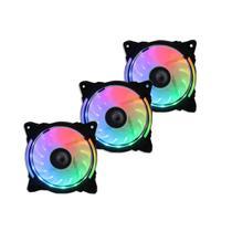 Kit Cooler Fan Wave Rise Mode 3 FANS W1-RGB-S-LED RGB -