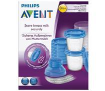 Kit copos c/22 pças p/a armazenagem leite philips - Philips Avent