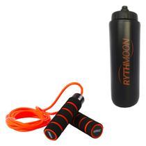 Kit Corda de Pular com Peso e Rolamento LS3124 Liveup + Squeeze Automático 1lt - Rythmoon