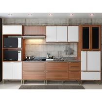Kit Cozinha 06 Peças 5450 Calábria - Balcão Pia Sem Tampo - Multimóveis -