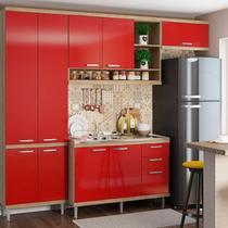 Kit Cozinha 4 Módulos 5840-S20- Sicília - Multimóveis -