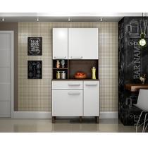 Kit cozinha 4 portas e gaveta Decari 31231 - Palmeira
