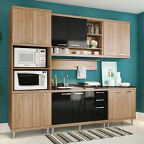 Kit Cozinha 6 Peças 5814 Sicília  Balcão Pia Sem Tampo - Multimóveis -