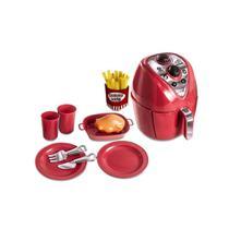 Kit Cozinha Air Fryer Chef Kids Com 12 Peças Zuca Toys -
