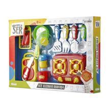 Kit Cozinha Animada Brincando de ser com Acessórios - Multilaser